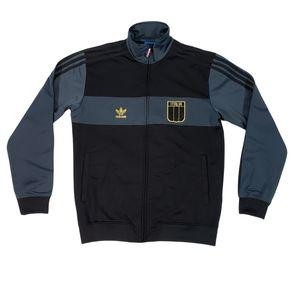 Adidas Originals Italy Italia #7 Track Jacket Sz M Trefoil Retro